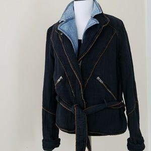 ||FREE PEOPLE|| black jacket
